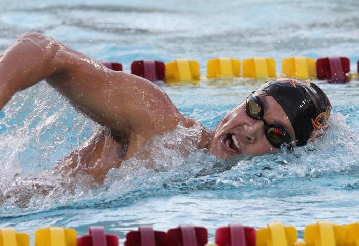 CMS' Williams named CollegeSwimming National Athlete of the Week