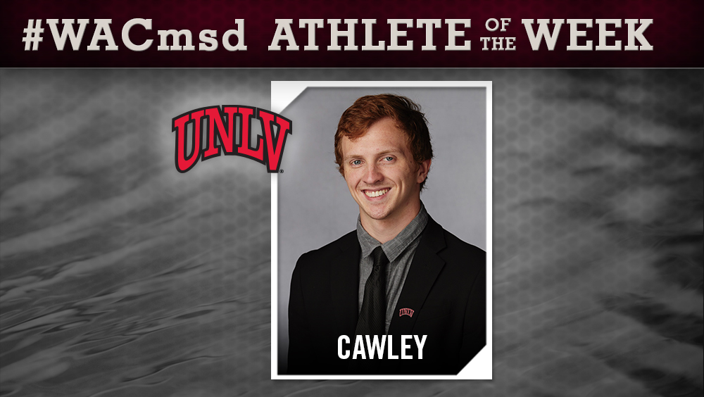 WAC Men's Diving Athlete of the Week Announced