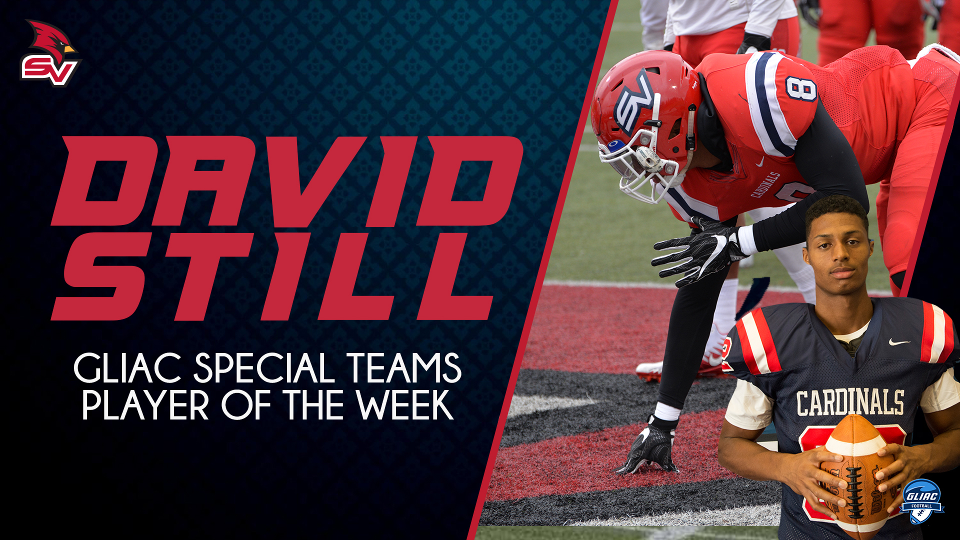 Still Earns Second GLIAC Special Teams Player of the Week Honors
