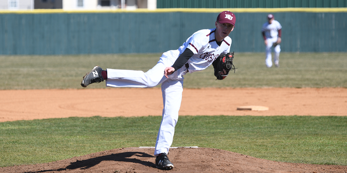 Austin Dill Pitches Gem to Help Evangel Baseball Split at Culver-Stockton
