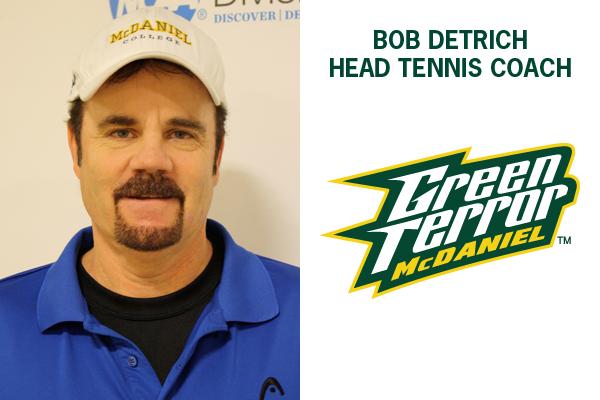 Detrich named head men's and women's tennis coach