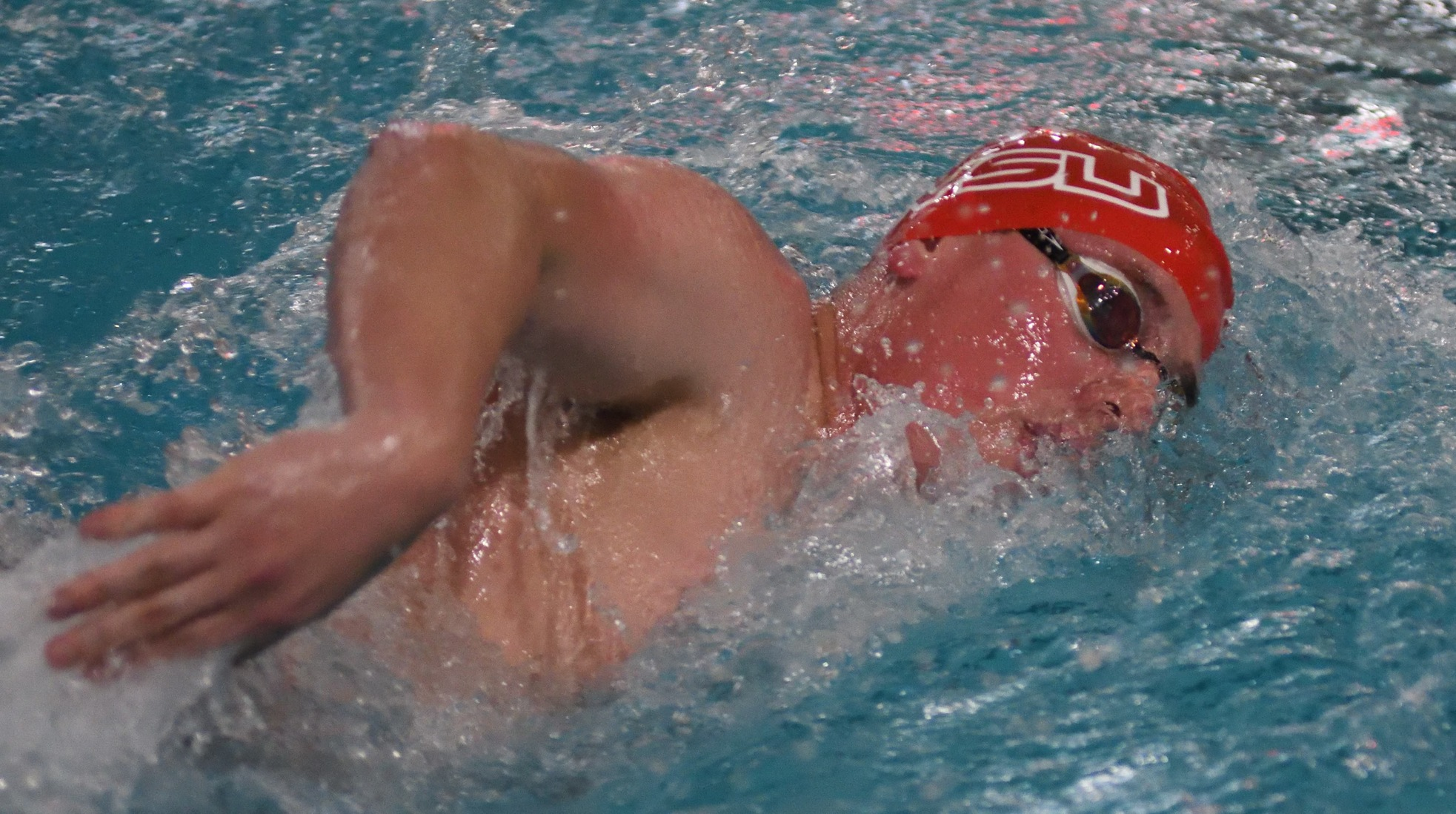 Swimming & Diving teams compete on day two at Wabash Invitational