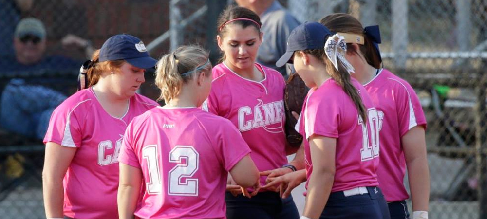 Saints Sweep Lady 'Canes