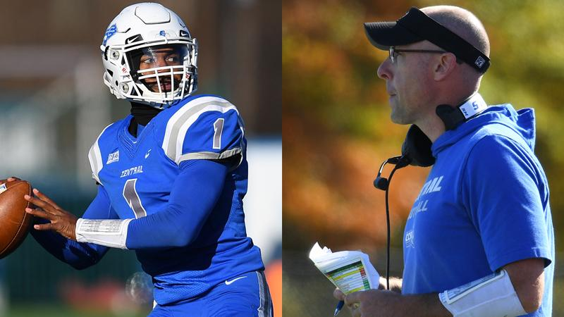 Winchester, McCarthy Earn NEC Major Awards, 12 Blue Devils Named All-Conference