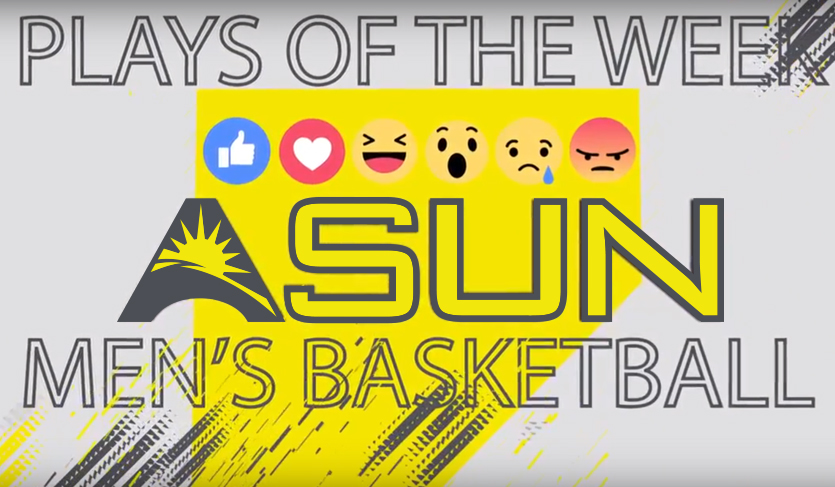 Vote for the Eleventh Edition of @ASUNMBB Plays of the Week
