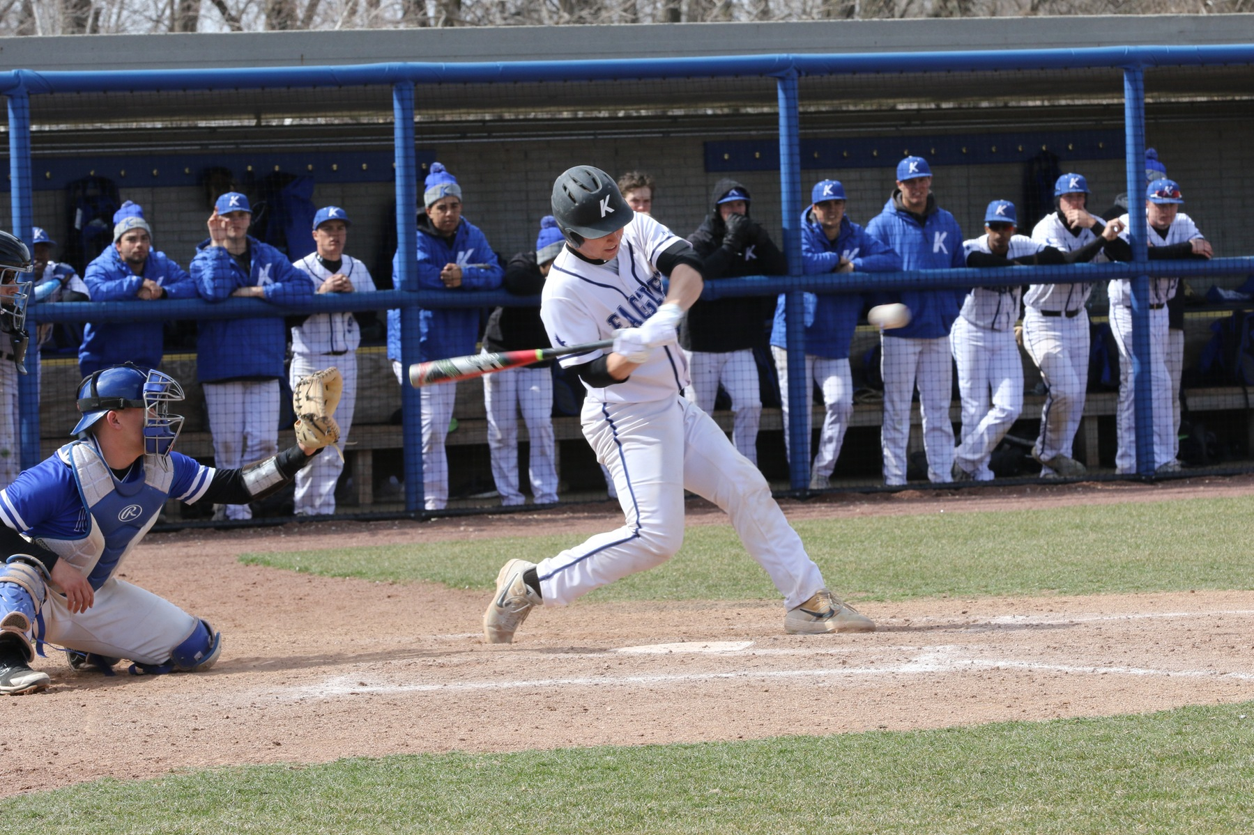 KCC baseball hits 5 HRs in sweep