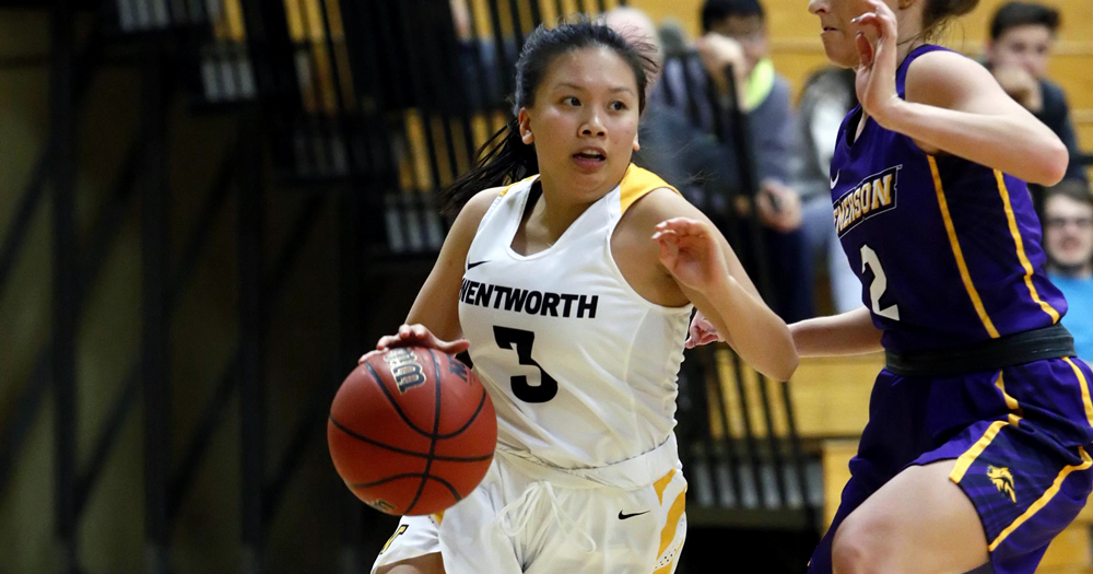 Anchorwomen Sink Women's Basketball with Strong Second Half