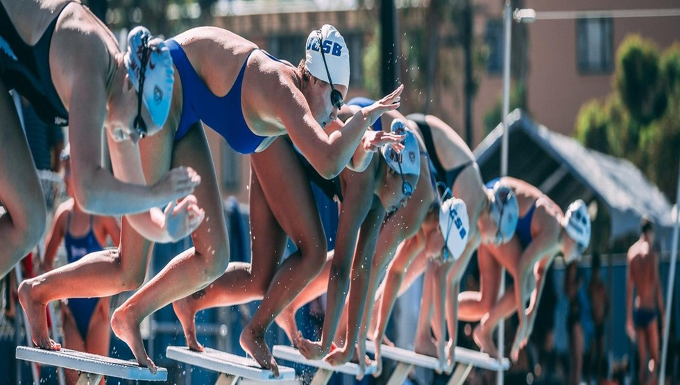 UCSB Women Sweep 100 Breaststroke But Still Fall Short to WSU
