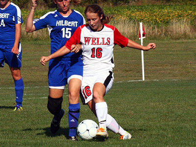 Blanford Scores Three In 5-0 Women's Soccer Victory