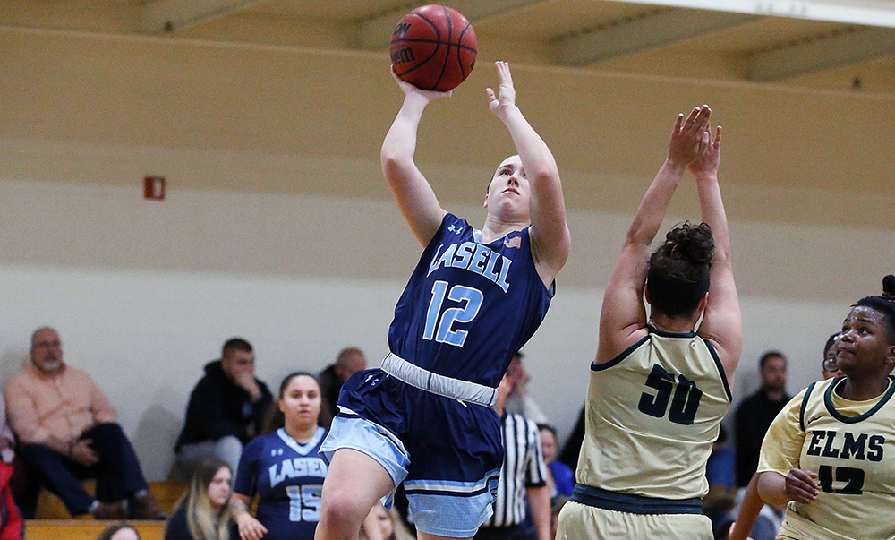 WBK: NVU-Lyndon nips Lasell in semester finale; Montgomery scores career-high 22 for Lasers