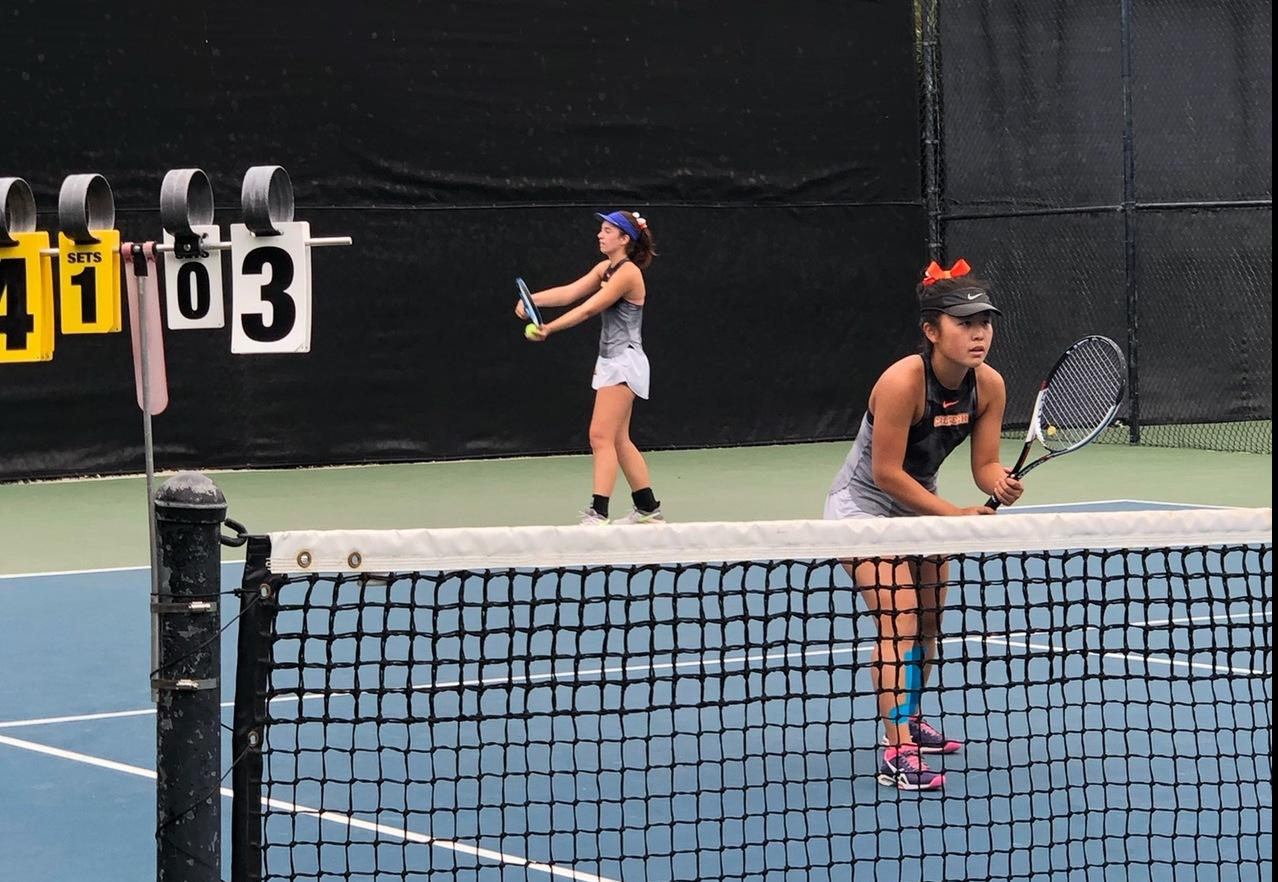 Third-Seeded Moriyama Breaks Into Ojai Singles, Doubles Finals