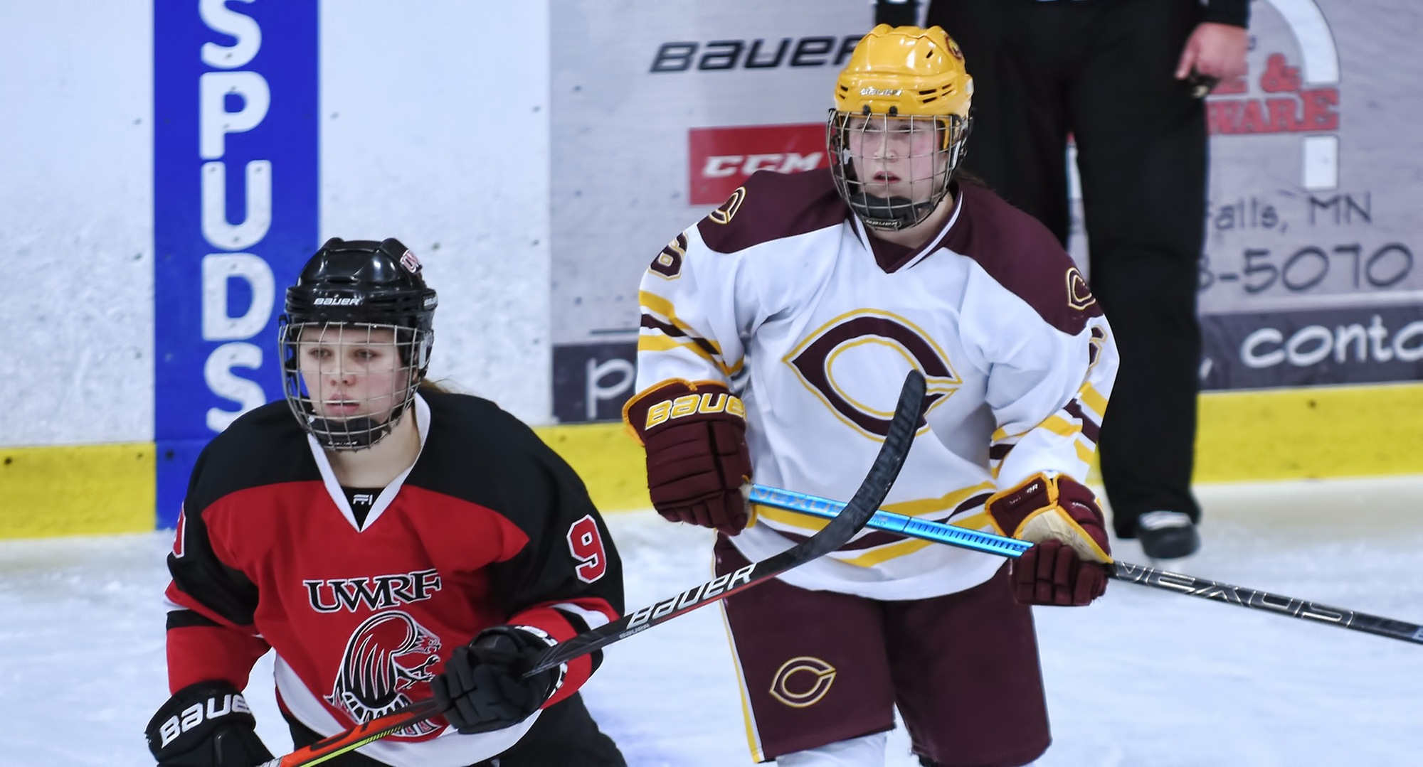 Sophomore Hannah Christian scored her first collegiate goal in the Cobbers' series finale with #7 Wis.-River Falls.