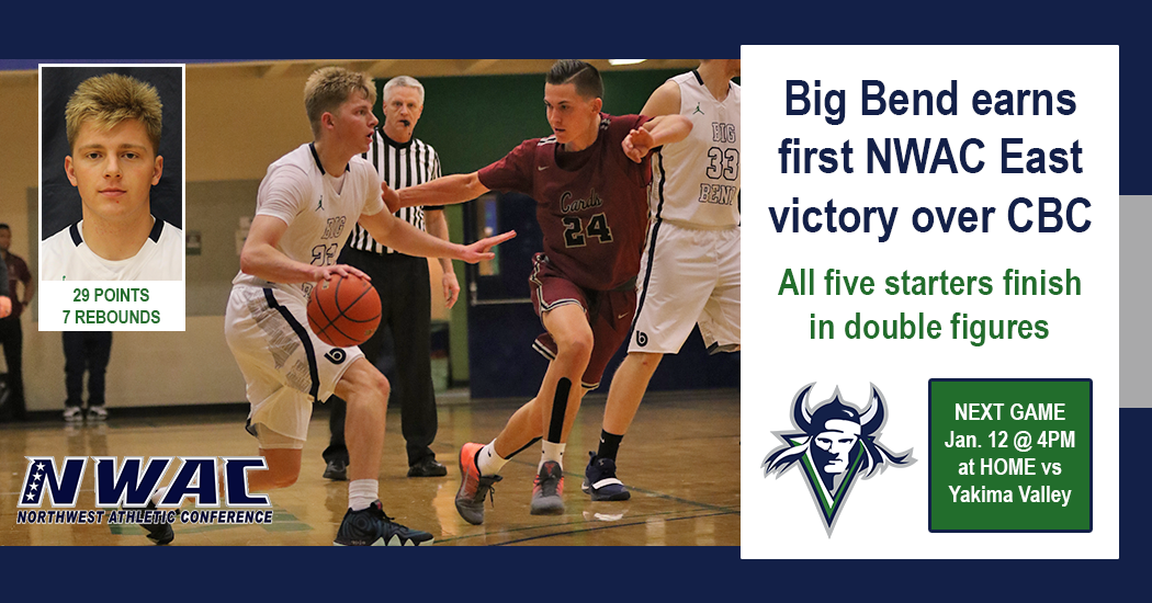 Runnin' Vikes get into the East Region win column defeating CBC