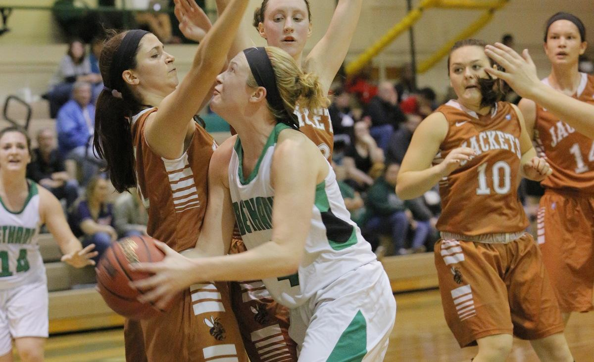 Daugherty scores 25 in Bethany win over Saint Vincent, 65-46