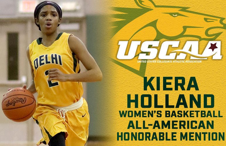 Kiera Holland Lands USCAA All-American Honorable Mention