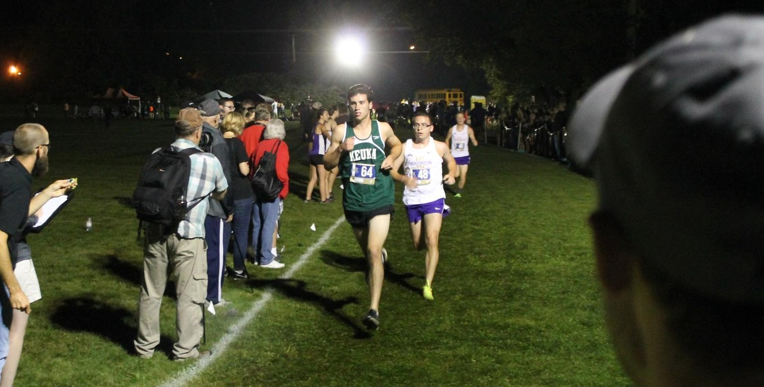 Lachlan McIntosh was the top finisher for the Wolves