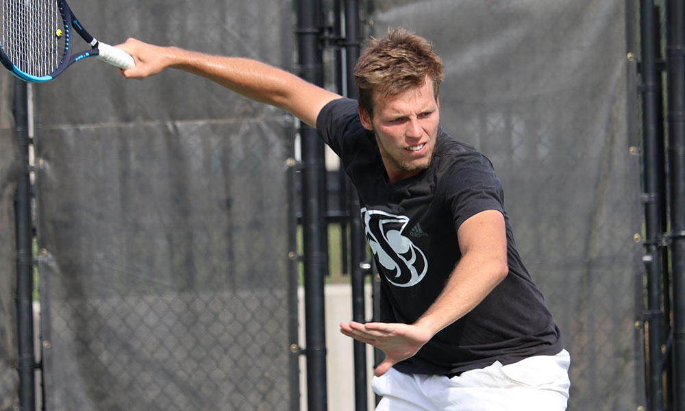 MEN'S TENNIS FALLS IN FINAL REGULAR SEASON ROAD MATCH AT MONTANA STATE, 5-2