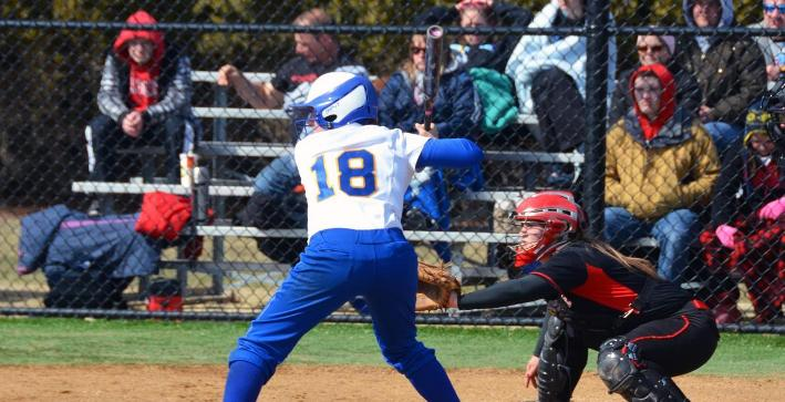 Softball opens season with pair of losses at dome tournament
