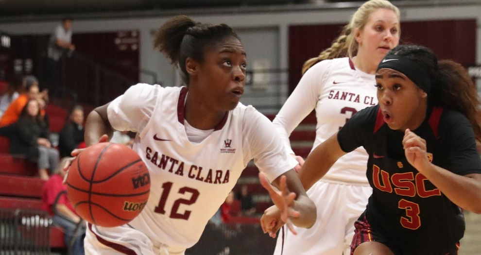 Women's Basketball Falls in Tight Conference Opener at Pepperdine