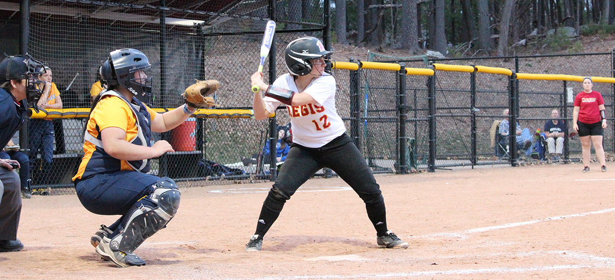 Softball Splits NECC Twinbill At Bay Path