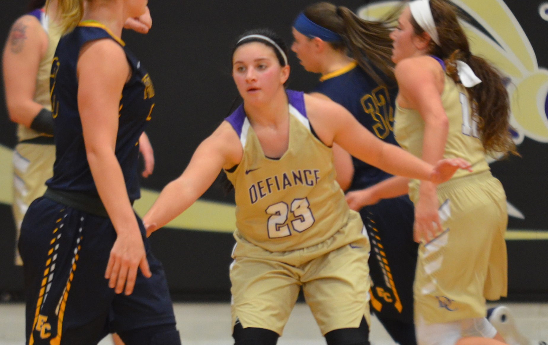 Defiance Drops Contest at Bluffton