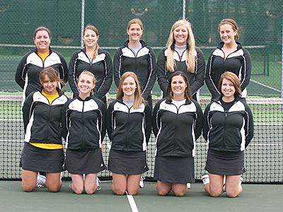 2006-07 Women's Tennis Team