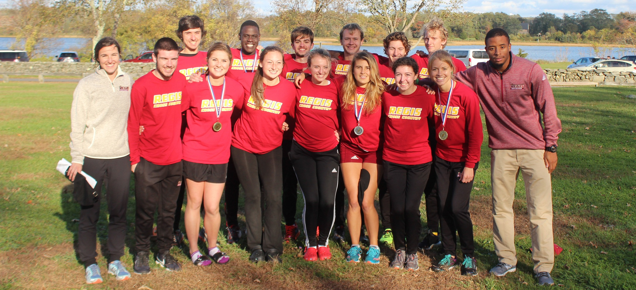 Men's and Women's Cross Country Both Finish in Top 4 at GNAC Championships