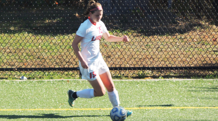 Lawrence Lifts Women's Soccer Past Western New England in OT Thriller, 1-0