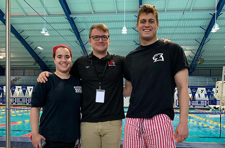 Swimming: Panther men fourth at Suncoast Swimming Conference meet