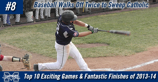 Top 10 Exciting Games of 2013-14 - #8 Baseball Walks Off Twice to Sweep Catholic