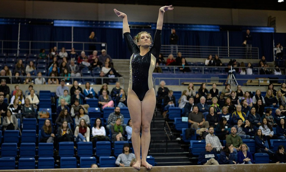 GYMNASTICS STUMBLES AT No. 14 BOISE STATE, SCORES 193.450