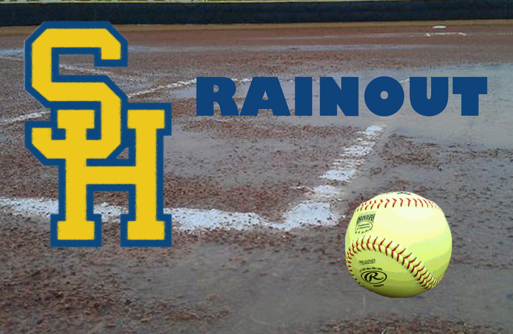 Opening Weekend of Softball Season Washed Out