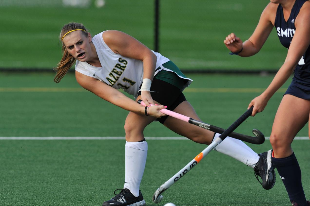 Field Hockey Falls at Anna Maria College, 4-2