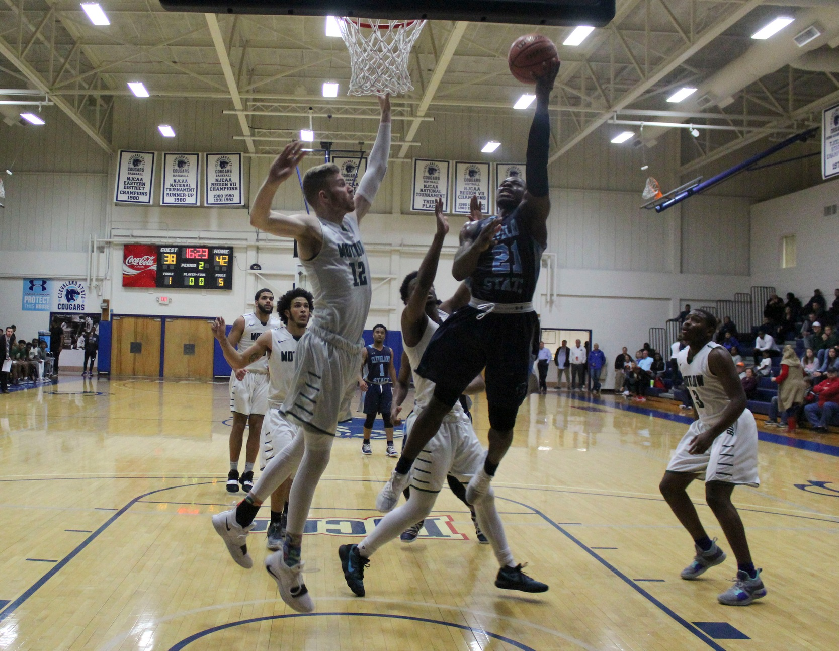 Cougars Upsets #2 Motlow State in Quarterfinals