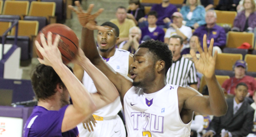 Golden Eagles trumped by Purple Aces in Eblen Center