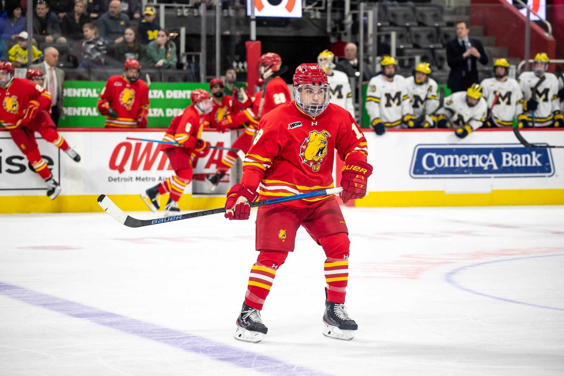 Ferris State Makes Late Push But Falls Shy At No. 15 Northern Michigan