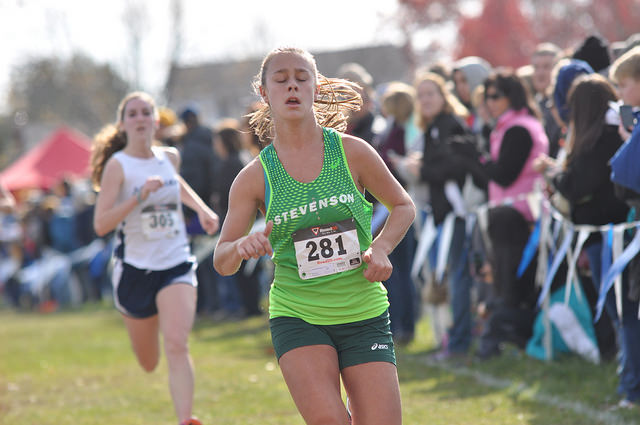 Winklbauer Leads Mustangs to Second Place at Baltimore Metro Meet