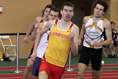 Men's track and field takes sixth at conference
