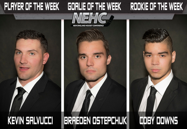 Men's Hockey NEHC Awards Week 3