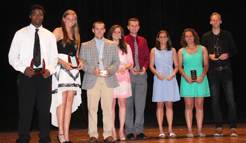 Student-Athletes Honored at 2014 Banquet
