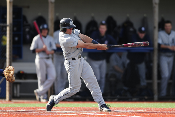Bohman Reaches Career Milestone; Baseball Sweeps D'Youville