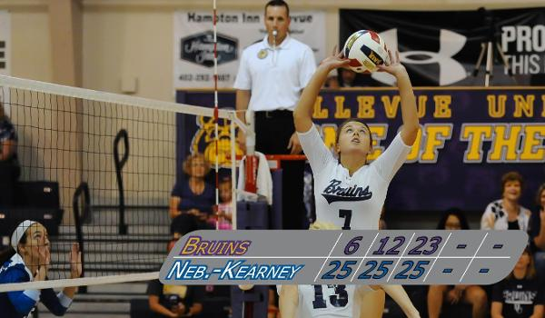 Beth Walker led Bellevue with 17 assists and was second with five kills and seven digs on the evening