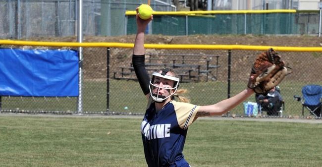 Cochrane Raps Out Four Hits, Picks Up Third Win As Softball Splits Non-League Twinbill With Wentworth