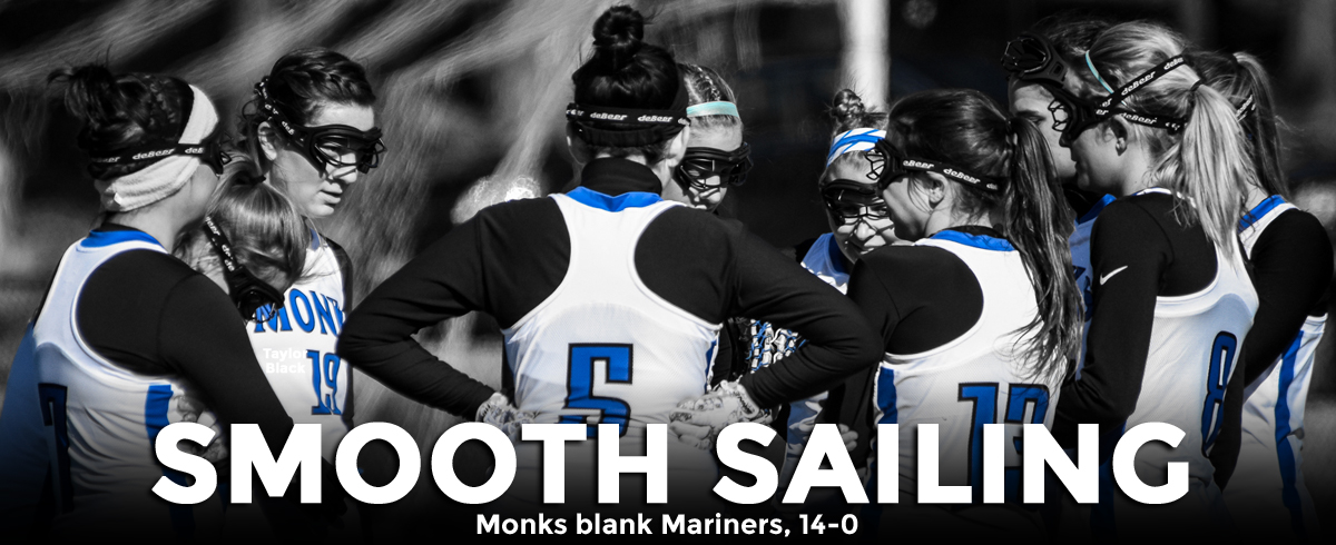 Monks Blank Mariners, 14-0
