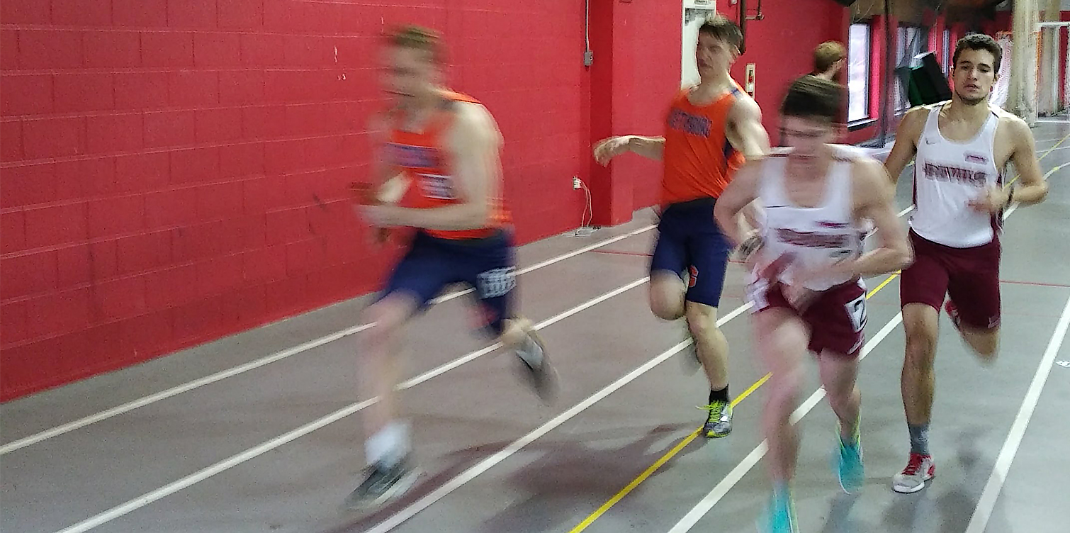 Hallinan, Mile Relay Team Win at Albright Invitational on Saturday