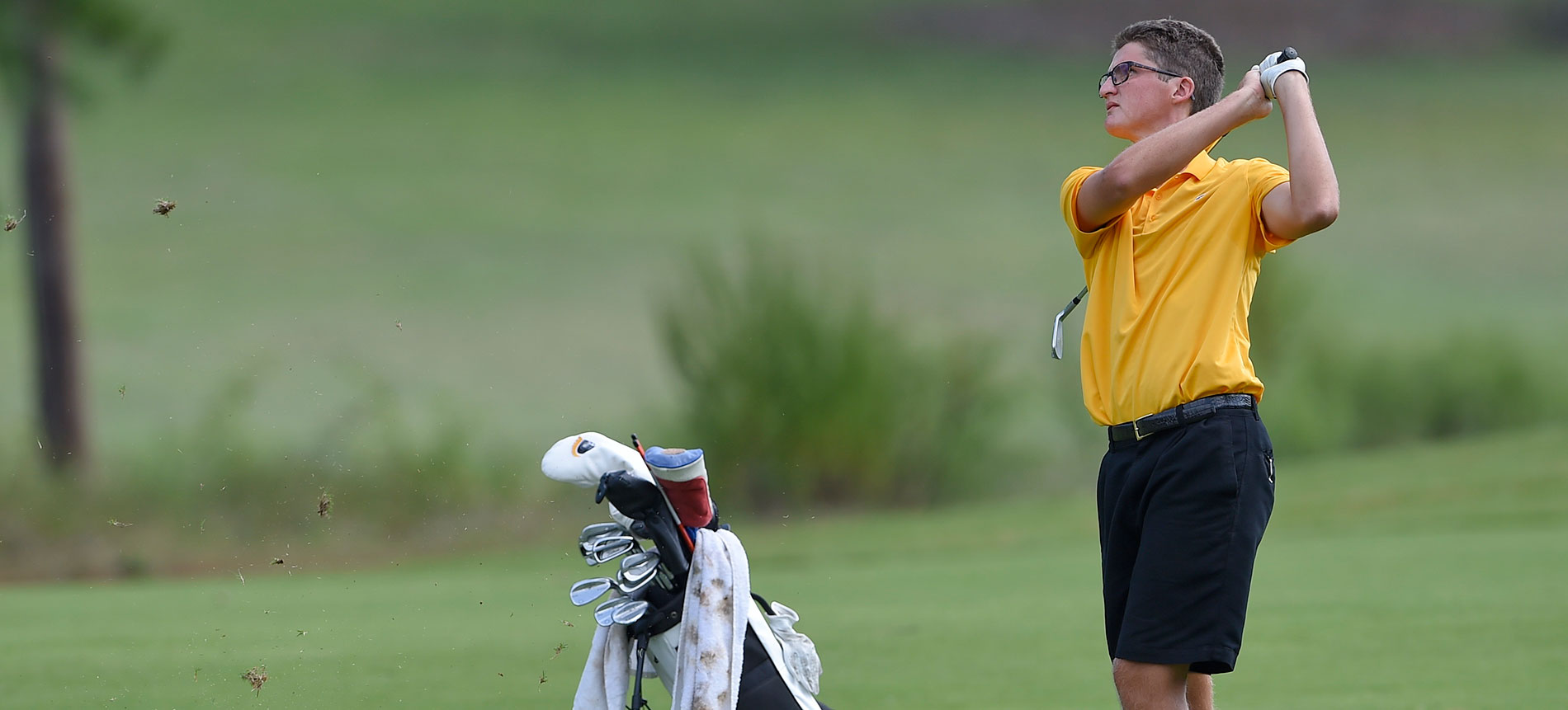 Men's Golf in First Place after Opening Round of King Invitational