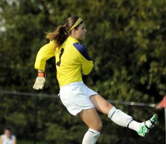 Allie Couzo earned her fourth shutout of 2011 on Oct. 25.