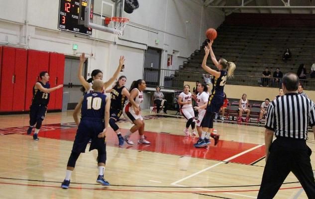 No. 14 Women's Basketball Downs Santa Ana for 20th Win of the Season