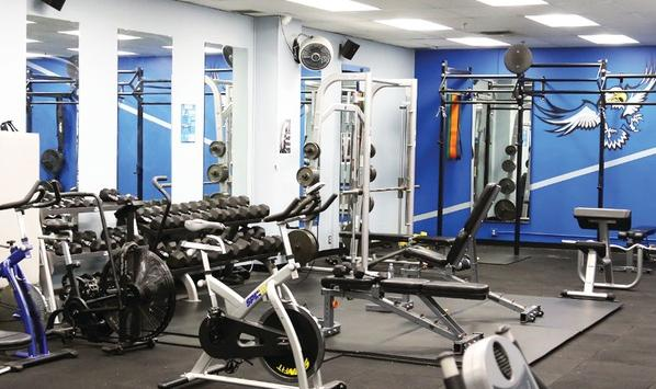Fitness Room Booking Now Live!