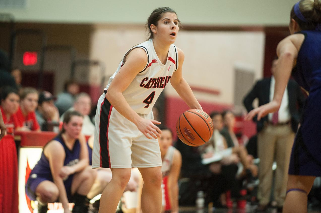 Grabiak Uplifts Lady Cardinals with a Career-High 33 Points
